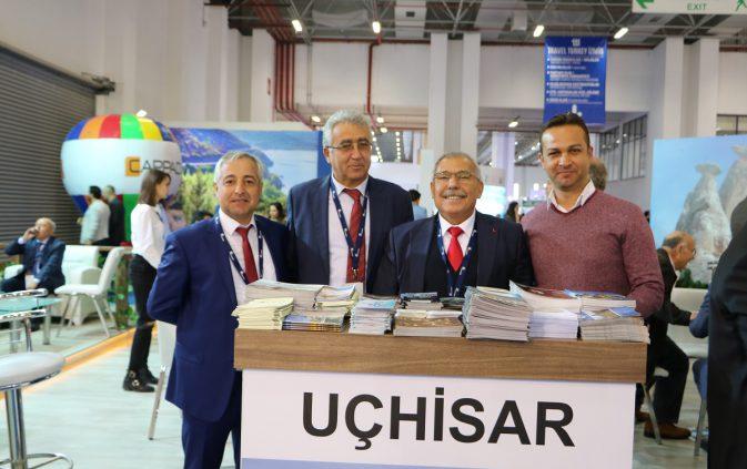 Uçhisar, Travel Turkey İzmir Fuarı'nda tanıtıldı.